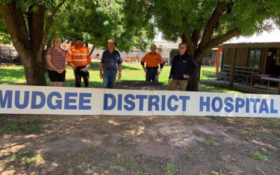Mudgee Hospital Sign Acquisition