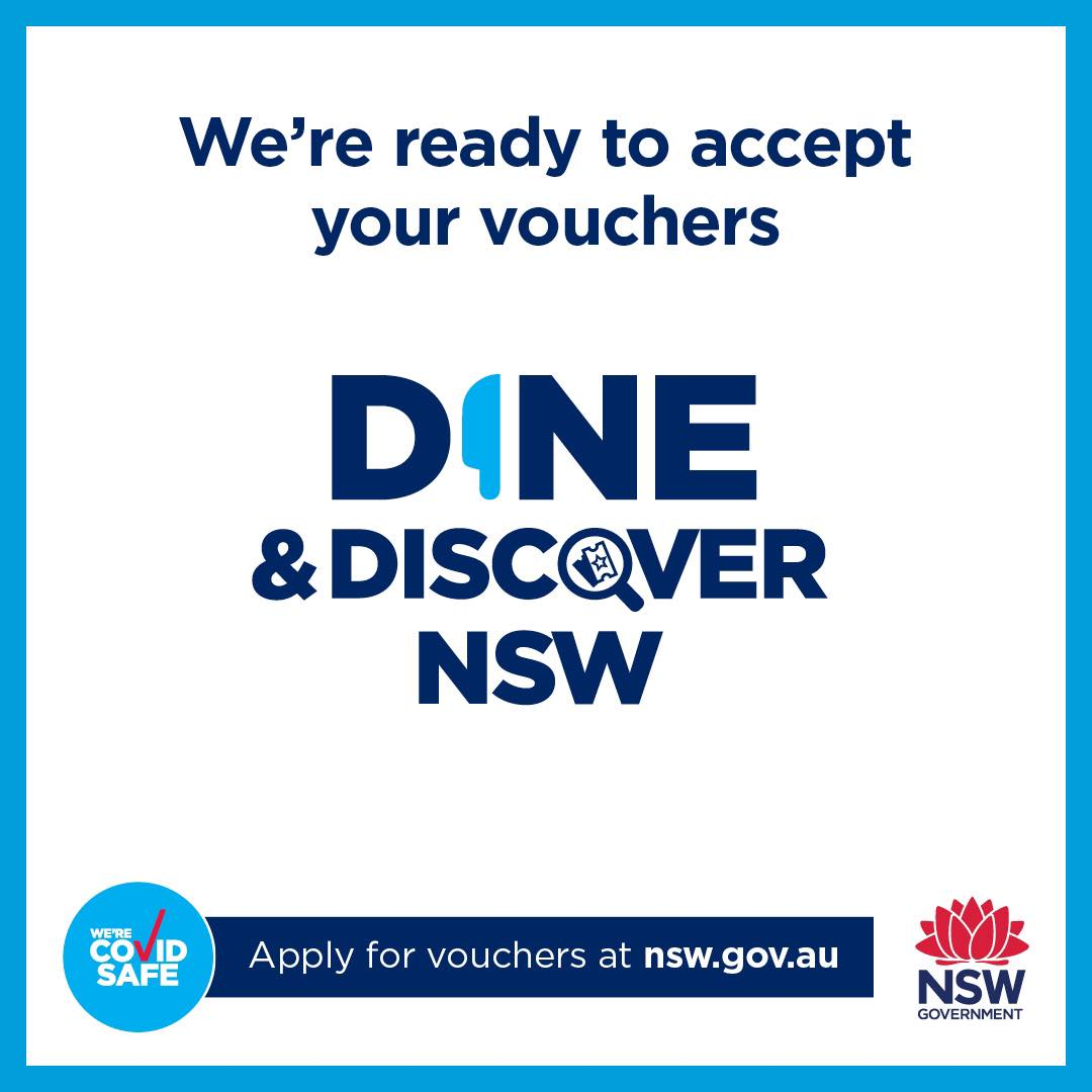Discover Vouchers welcome